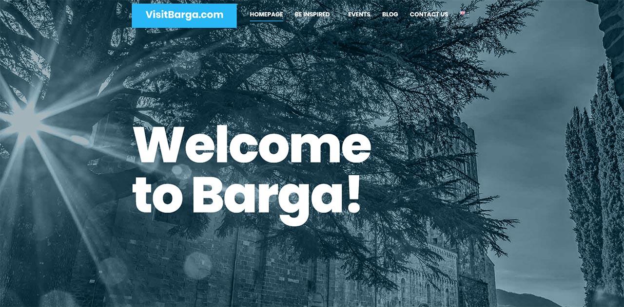 E' online la versione inglese del portale turistico VisitBarga.com